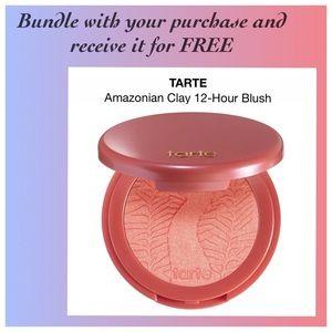 TARTE Amazonian Clay 12-hours Shimmering Blush